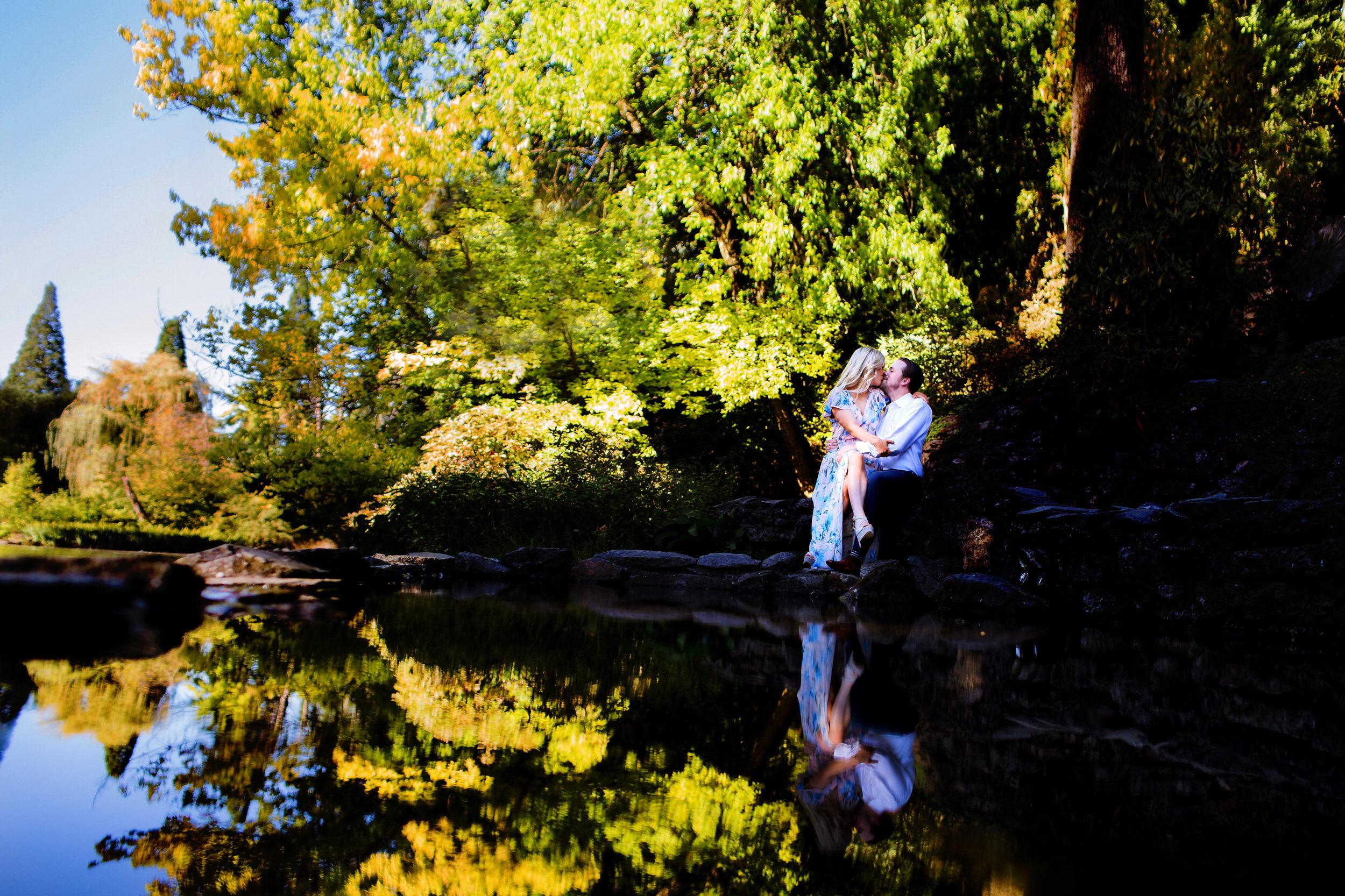 Crystal Springs Rhododendron Garden Wedding Engagment Shoot003