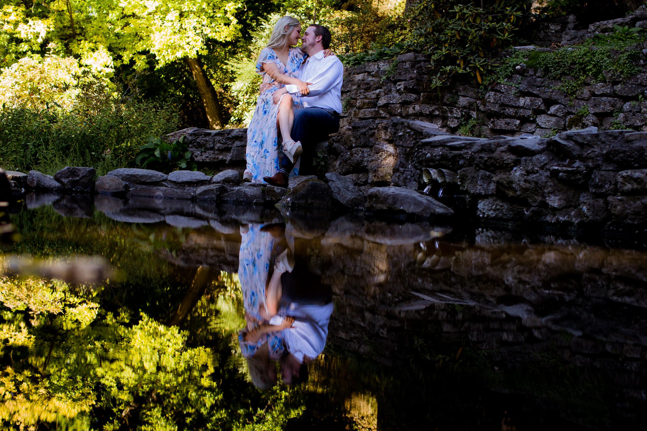 Crystal Springs Rhododendron Garden Wedding Engagment Shoot004