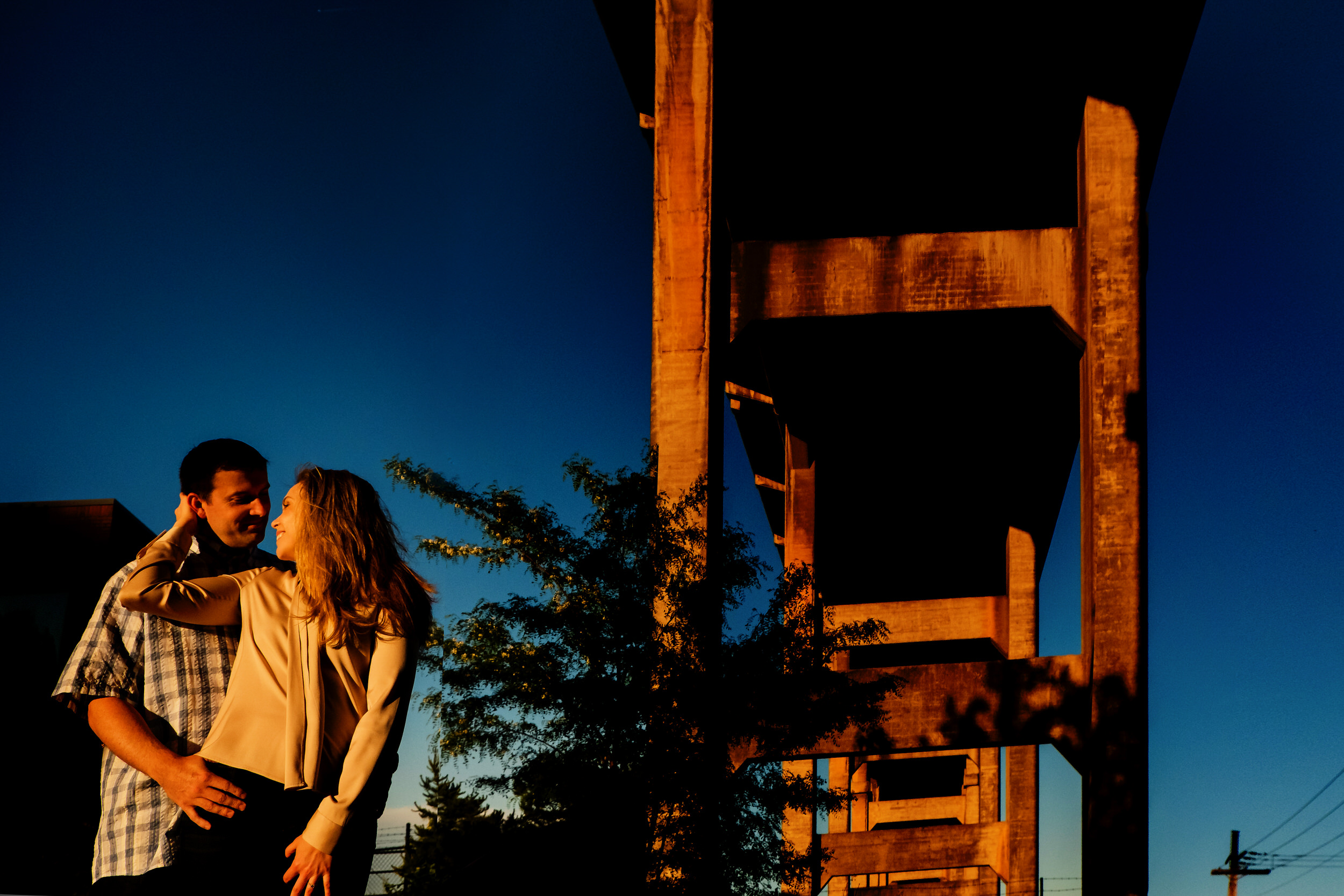 Tilikum Bridge Crossing Engagement Shoot Photos0012