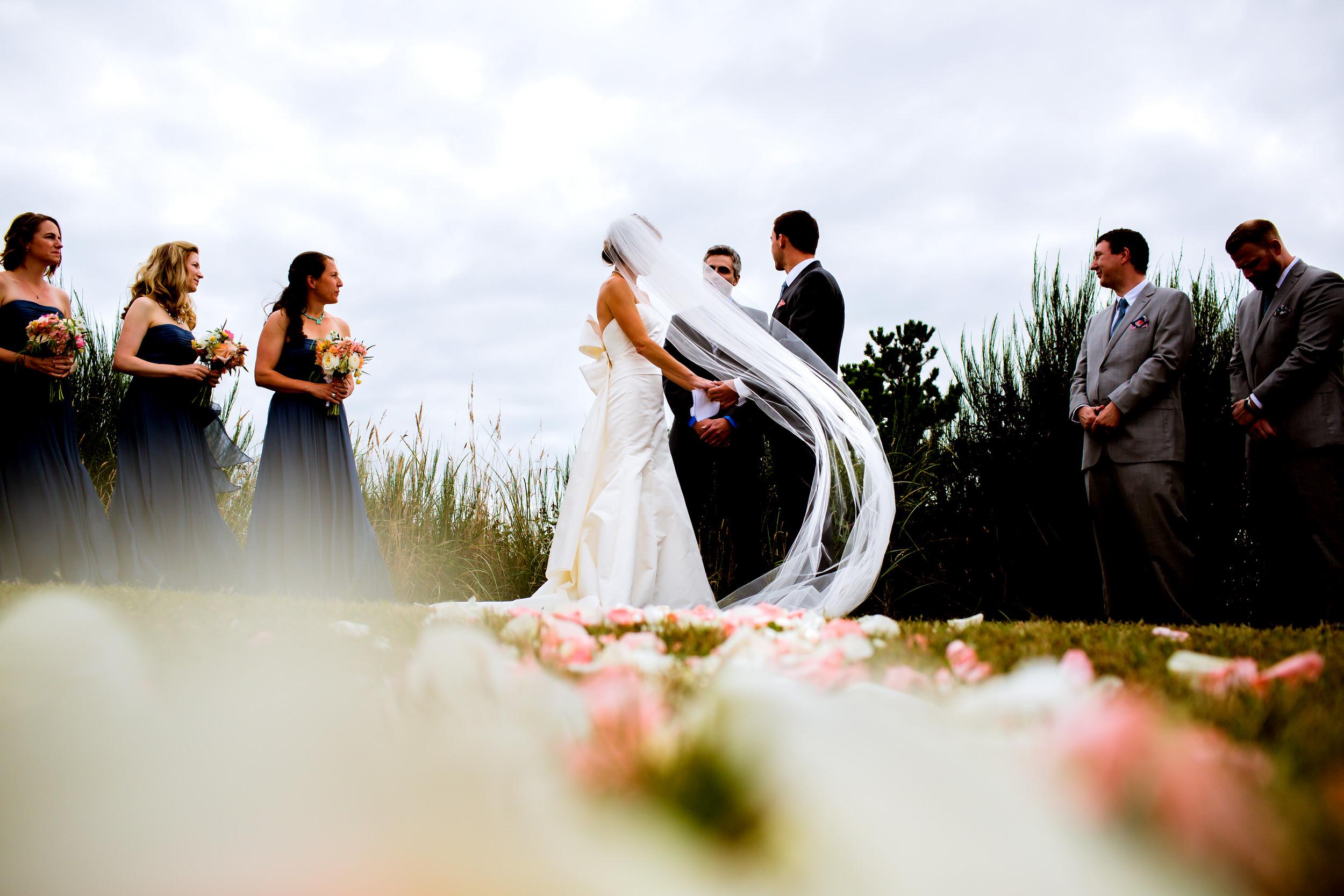 Gearhart Beach Oregon Coast Wedding