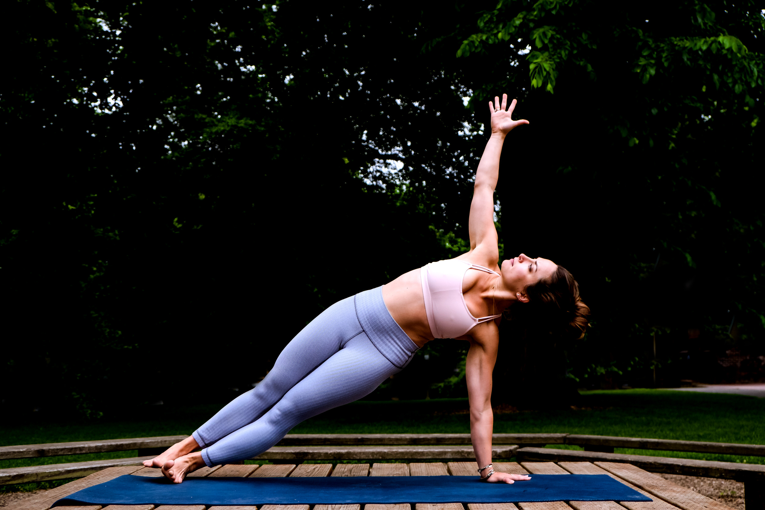 Wedding Day Yoga Poses: How to do yoga poses