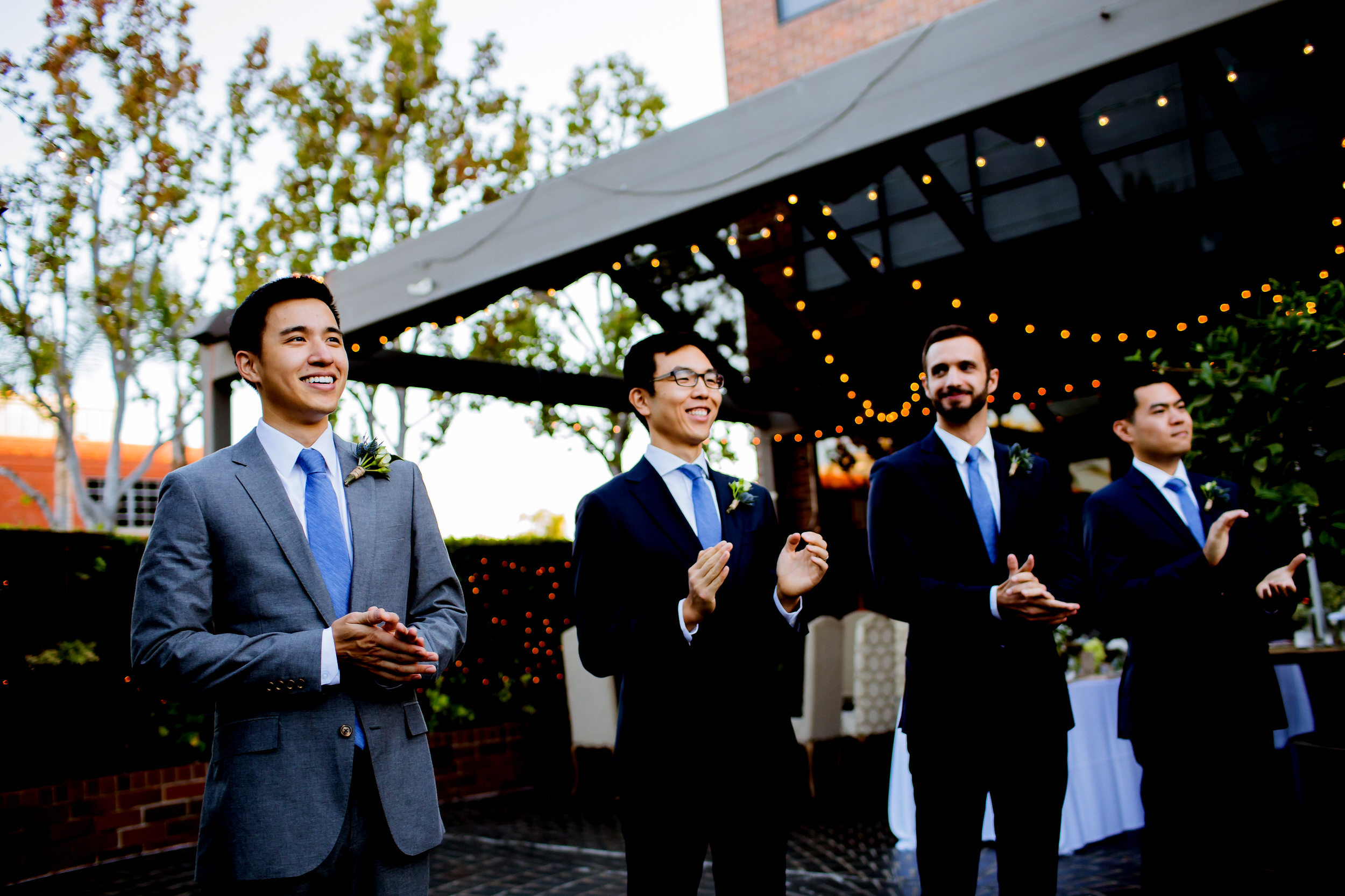 A fun LA Wedding in the city of Santa Monica at a great urban venue - Tiato Kitchen Market Garden Venue Wedding Santa Monica_001