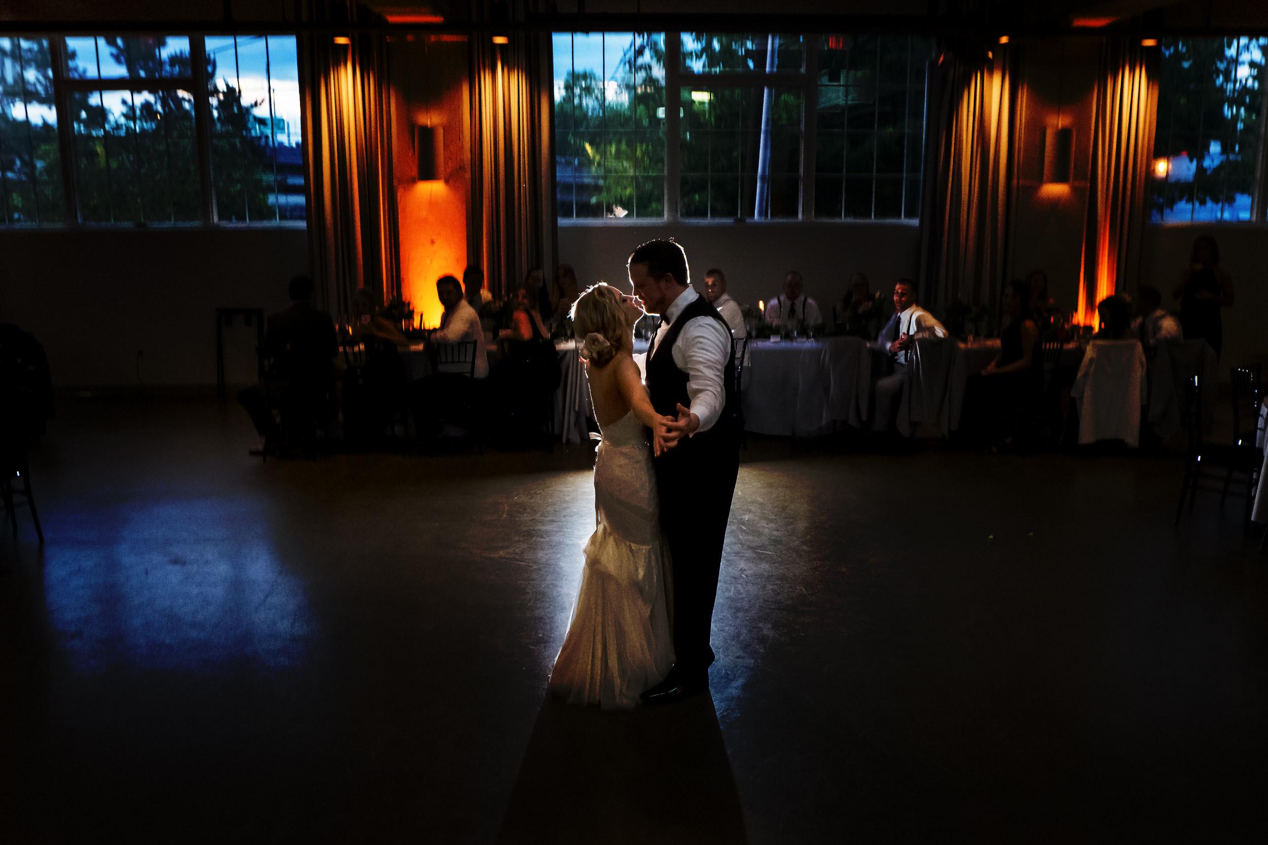 Eastside Exchange Ballroom Wedding Portland, Oregon
