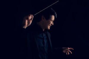 Portland Headshot and Fine art branding Portraits: Norman Huynh Conductor