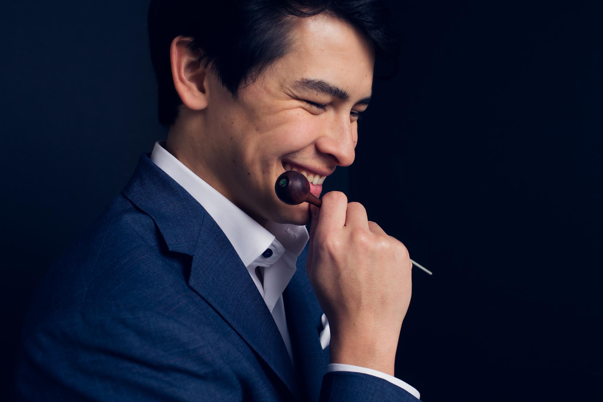 Fine art branding Portraits: Norman Huynh Conductor