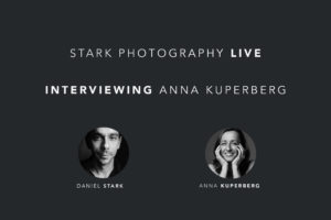 Facebook live interview with Anna Kuperberg, San Francisco based wedding and portrait photographer