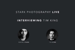 Tim King wedding and portrait photographer based in San Diego - Facebook live interview.