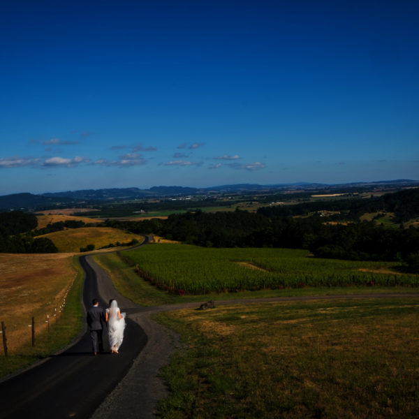 Youngberg Hill is a beautiful wedding venue in the wine country in McMinnville, OR. Wedding photography by Stark Photography